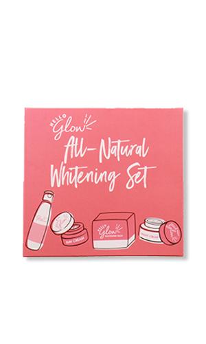 Hello Glow All-NaturalWhitening Set